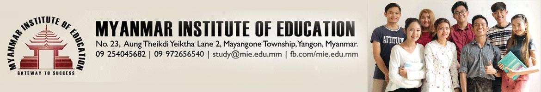 Myanmar Institute of Education