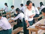 တက္ကသိုလ်ဝင်ခွင့်စာမေးပွဲ စိတ်ကြိုက်မြန်မာစာဖြေဆိုသူဦးရေ (၆) နှစ်အတွင်းအများဆုံးဖြစ်