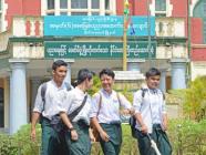 လူဦးရေ များသောကျောင်းများ တစ်ပတ်ခြားစီ တက်ရမည်ဟုသိရ