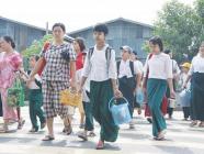 မိဘများ ကျောင်းပို့ကျောင်းကြိုလုပ်ရာတွင် လူစုလူဝေးမဖြစ်စေရန်