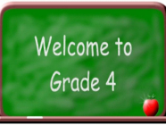 Grade-4 သင်တန်းဆိုင်ရာ အားလုံးသိစေရန်