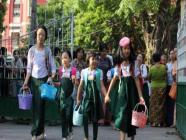 အလယ်တန်းနှင့် မူလတန်းကျောင်းများကို ကိုဗစ် စည်းမျဉ်း လျှော့ချပေးနိုင်ရေး ဆောင်ရွက်