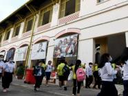 ကမ္ဘောဒီးယားနိုင်ငံတွင် COVID-19 ရောဂါအခြေအနေများ ငြိမ်သက်သွားပြီးနောက် ကျောင်းများ ပြန်ဖွင့်