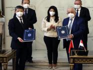 တရုတ်နှင့်အီဂျစ် ပညာရေးသဘောတူညီချက် နှစ်နိုင်ငံသဘောတူလက်မှတ်ထိုး