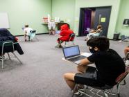 ကယ်လီဖိုးနီးယား တက္ကသိုလ်အတွင်းရှိ ကျောင်းသားအားလုံး အသွားအလာကန့်သတ်ခံရ