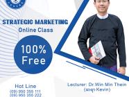 York Centre ၏ Business English နှင့် Strategic Marketing Online အခမဲ့ သင်တန်းများ
