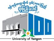 ရန်ကုန်တက္ကသိုလ် နှစ်(၁၀၀)ပြည့် ရာပြည့်သဘင်အခမ်းအနား Virtual စနစ်ဖြင့် ထုတ်လွှင့်မည်