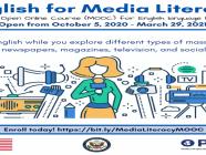 """""""မီဒီယာသိနားလည်မှုဆိုင်ရာ အင်္ဂလိပ်စာ"""" သင်ခန်းစာများ"""