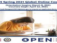 Online Professional English Network (OPEN) အွန်လိုင်းသင်တန်း ကို အမေရိကန်သံရုံးမှ လျှောက်နိုင်
