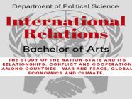 နိုင်ငံတကာဆက်ဆံရေးပညာရပ် - IR (International Relations) မှာ ဘာတွေသင်ရမလဲ