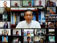 မြန်မာနိုင်ငံတက္ကသိုလ်များအတွက်ပတ်ဝန်းကျင်ထိန်းသိမ်းရေးဥပဒေသင်ရိုးညွှန်းတမ်းများရေးဆွဲရေးလုပ်ငန်း