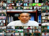 ကျောင်းစီမံအုပ်ချုပ်မှု စွမ်းရည်မြှင့်တင်ရေး အမှတ်စဉ်(၁/၂၀၂၁) အွန်လိုင်းသင်တန်း ပို့ချ
