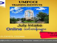 UMFCCI Training Institute မှ (Online) သင်တန်းများအတွက် လျှောက်လွှာလက်ခံနေပါပြီ