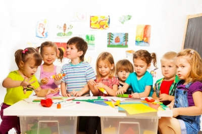 ကလေးငယ်လေးတွေ မူကြိုကျောင်းမှာ သင်ယူနေတတ်တဲ့ နည်းလမ်း